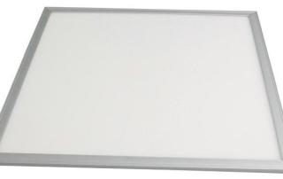 Proč chtít osvětlení LED panely?