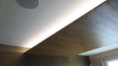 Použití LED pásku v podhledu