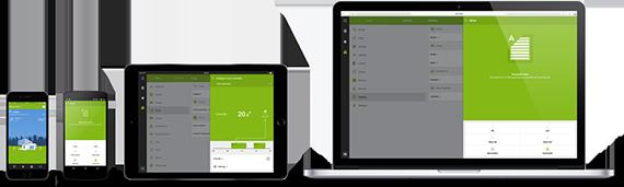 Ovládání domu mobilem, tabletem nebo počítačem